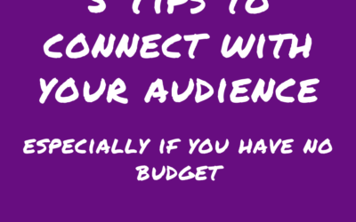 5 Tips to Connect With Your Audience